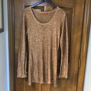 Shimmery, sparkly sweater (L)